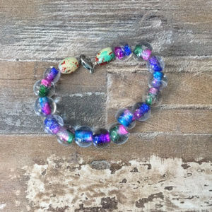 Vintage Glass Bead Bracelet
